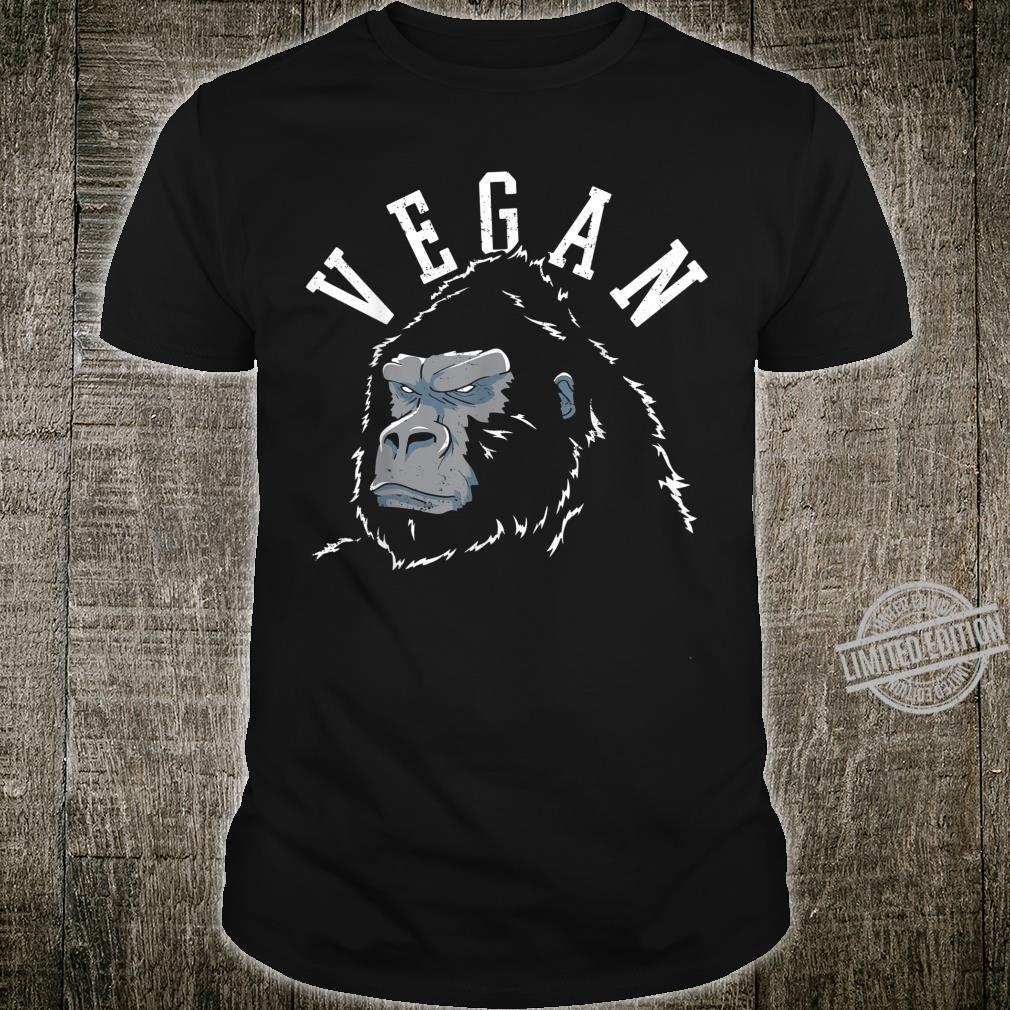 Vegan Fitness Gym Workout Vintage Shirt