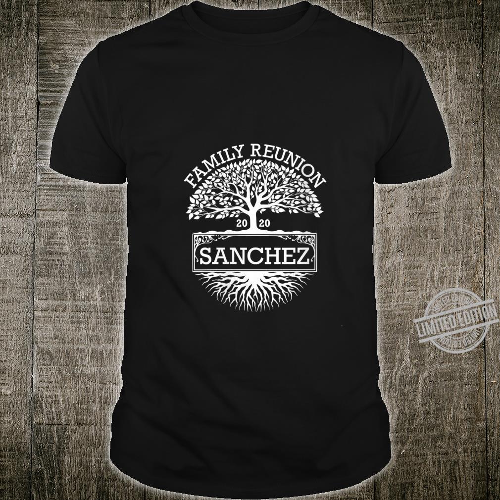 Womens 2020 Sanchez Matching Family Reunion Shirt