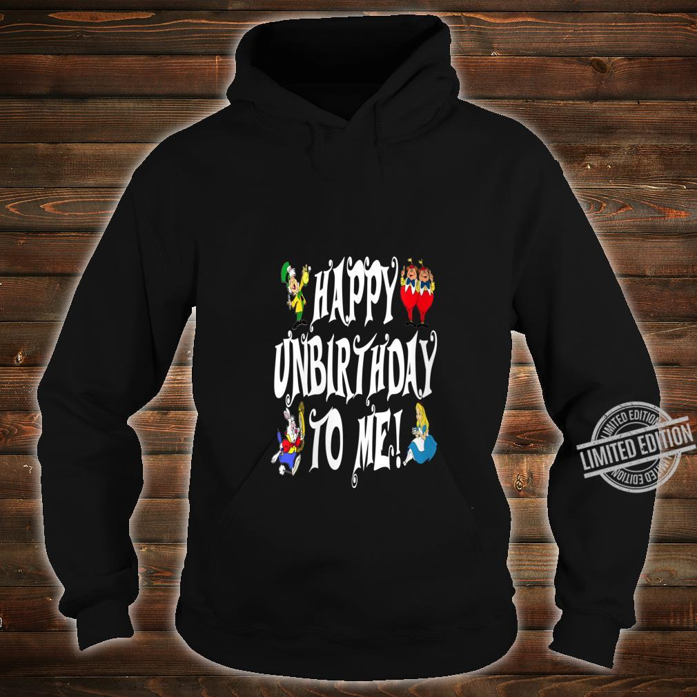 Womens Alice In Wonderland Happy Unbirthday Tea Party Fans Shirt hoodie