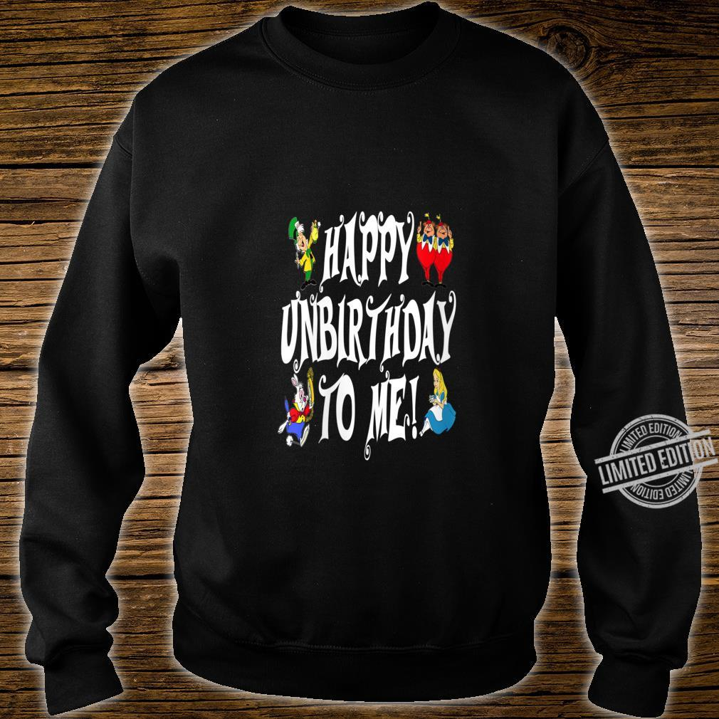 Womens Alice In Wonderland Happy Unbirthday Tea Party Fans Shirt sweater