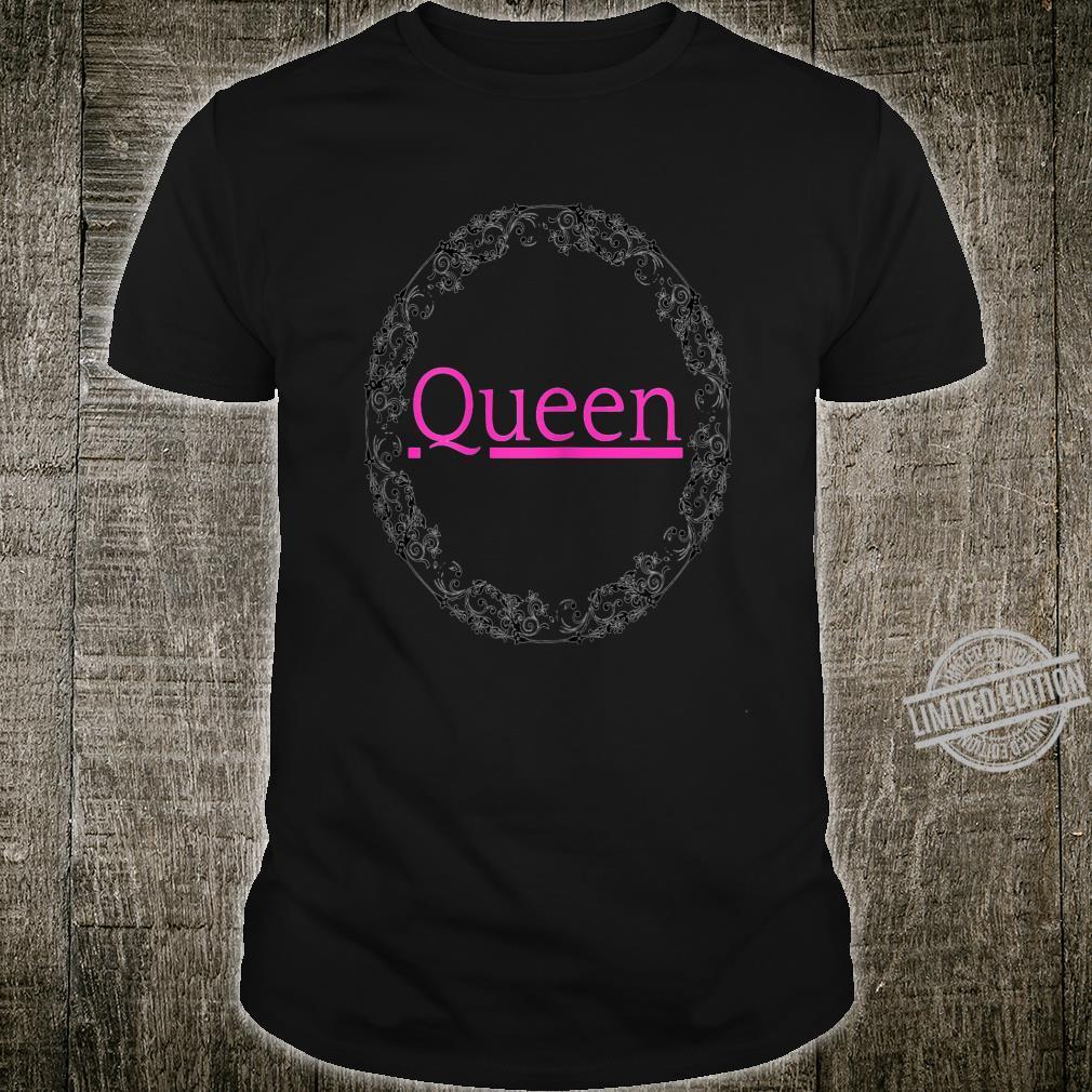 Womens Queen Mandala Shirt