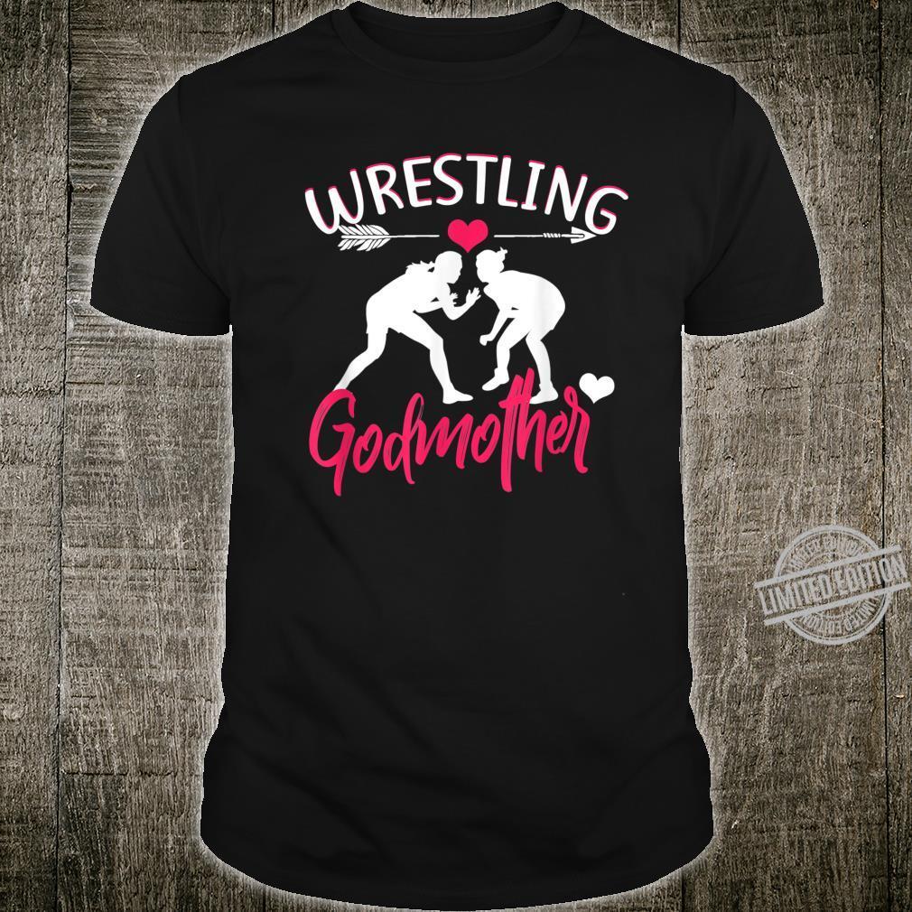 Wrestling Godmother for Mother's Team Shirt